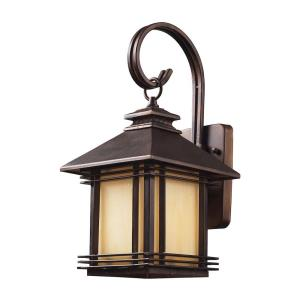 Blackwell - 1 Light Outdoor Wall Sconce in Transitional Style with Mission and Vintage Charm inspirations - 16 Inches tall and 8 inches wide