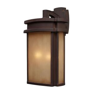 Sedona - 2 Light Outdoor Wall Lantern in Transitional Style with Mission and Vintage Charm inspirations - 20 Inches tall and 11 inches wide
