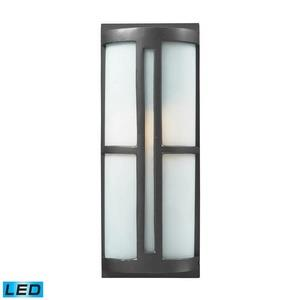Trevot - 17 Inch 9.5W 1 LED Outdoor Wall Lantern