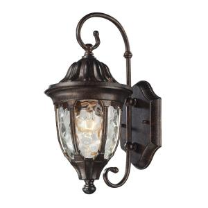 Glendale - 1 Light Outdoor Wall Lantern in Traditional Style with Victorian and Rustic inspirations - 14 Inches tall and 7 inches wide