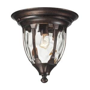 Glendale - One Light Outdoor Flush Mount