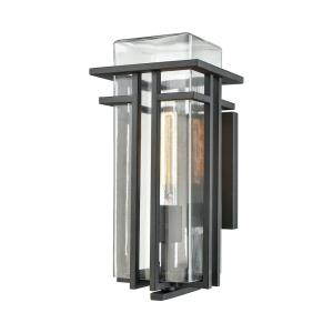 Croftwell - One Light Outdoor Wall Lantern