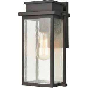 Braddock - One Light Outdoor Wall Sconce