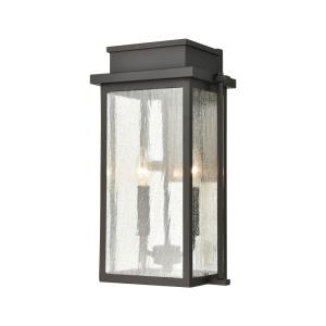 Braddock - Two Light Outdoor Wall Sconce