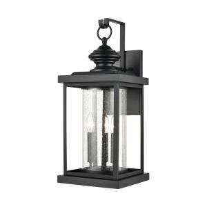 Minersville - 3 Light Outdoor Wall Sconce in Transitional Style with Vintage Charm and Victorian inspirations - 23 Inches tall and 10 inches wide