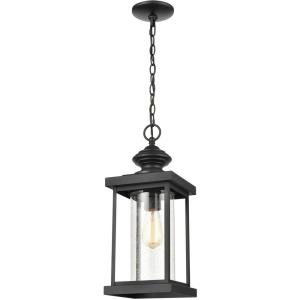Minersville - 1 Light Outdoor Pendant in Transitional Style with Vintage Charm and Victorian inspirations - 20 Inches tall and 8 inches wide