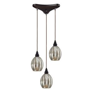 Danica - 3 Light Linear Pendant in Transitional Style with Luxe/Glam and Modern Farmhouse inspirations - 9 Inches tall and 5 inches wide