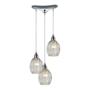 Danica - Three Light Linear Pendant