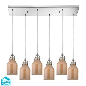 Danica - Six Light Chandelier