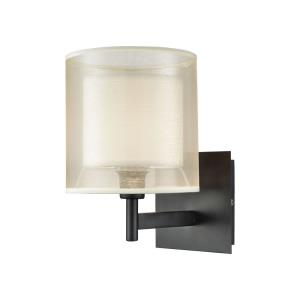 Ashland - 1 Light Bath Vanity in Modern/Contemporary Style with Art Deco and Luxe/Glam inspirations - 10 Inches tall and 6 inches wide