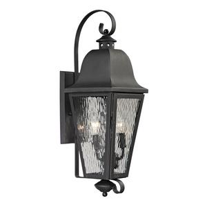 Forged Brookridge - Two Light Outdoor Wall Sconce