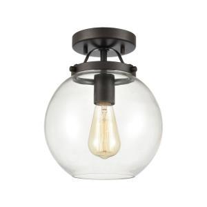 Bernice - One Light Semi-Flush Mount