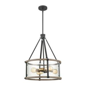 Geringer - Four Light Pendant