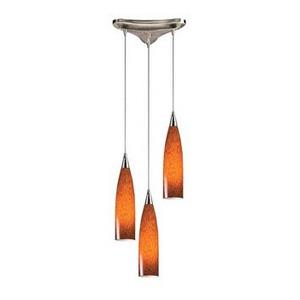 Lungo - Three Light Pendant