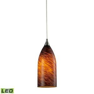 "Verona - 5"" 9.5W 1 LED Mini Pendant"