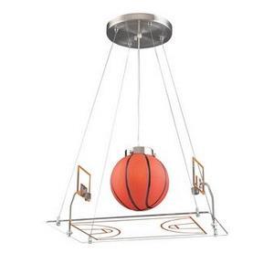 Novelty - One Light Basketball Court Pendant