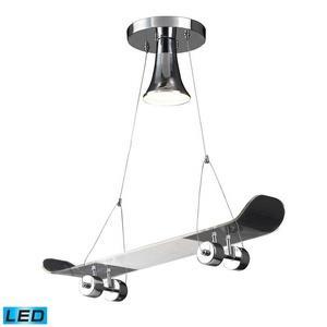 Novelty - One Light Skateboard Pendant