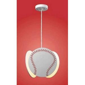 Novelty 1-light Baseball Pendant