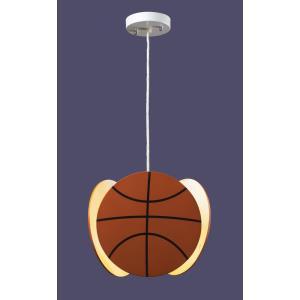 Novelty - 1 Light Basket Ball Pendant