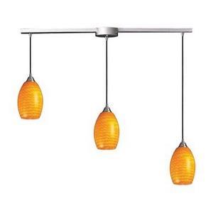 Mulinello - Three Light Linear Pendant