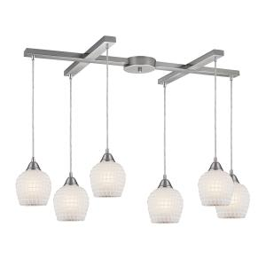Fusion - Six Light H-Bar Pendant