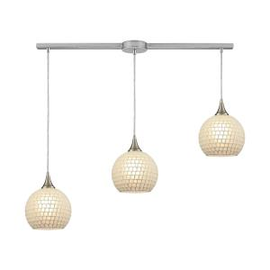 Fusion - Three Light Linear Mini Pendant