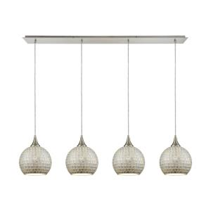 Fusion - Four Light Linear Pendant