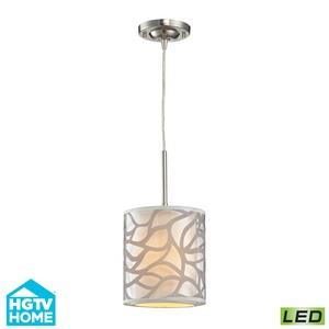Autumn Breeze - 8 Inch 9.5W 1 LED Mini Pendant