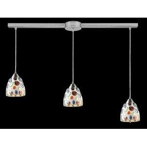 Gemstone - Three Light Linear Pendant