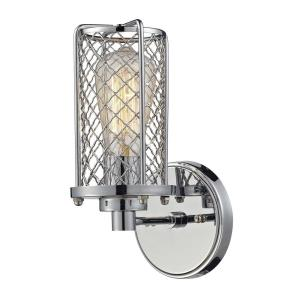 Brisbane - 1 Light Wall Sconce in Modern/Contemporary Style with Urban/Industrial and Modern Farmhouse inspirations - 11 Inches tall and 5 inches wide