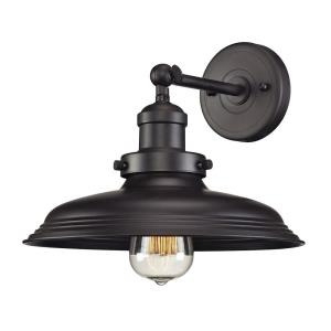 Newberry - 1 Light Wall Sconce in Transitional Style with Modern Farmhouse and Urban/Industrial inspirations - 9 Inches tall and 11 inches wide