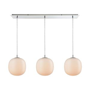 Beehive - Three Light Linear Mini Pendant