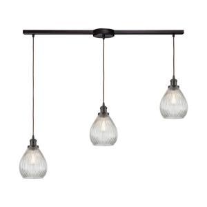 Jackson - Three Light Linear Mini Pendant