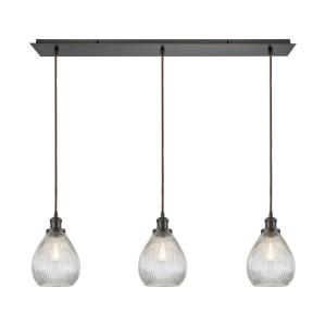 Jackson - Three Light Linear Mini Pendant
