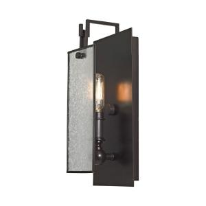 Lindhurst - 1 Light Swingarm Wall Sconce in Modern Style with Modern Farmhouse and Mission inspirations - 13 Inches tall and 4 inches wide