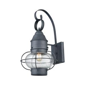 Onion - One Light Outdoor Wall Lantern