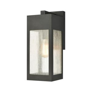 Angus - 1 Light Outdoor Wall Sconce in Modern/Contemporary Style with Urban and Southwestern inspirations - 13 Inches tall and 4.75 inches wide