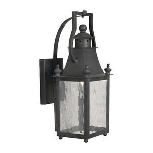 Plantation - One Light Outdoor Wall Sconce