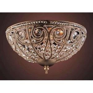 Elizabethan - Three Light Flush Mount