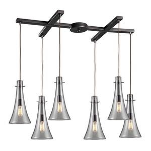 Menlow Park - Six Light Pendant