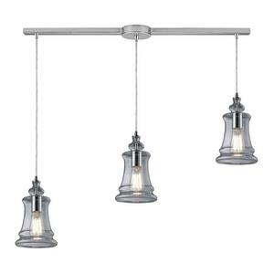 Menlow Park - Three Light Linear Pendant