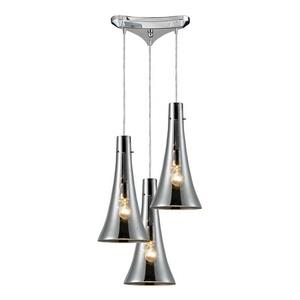 Menlow Park - Three Light Pendant