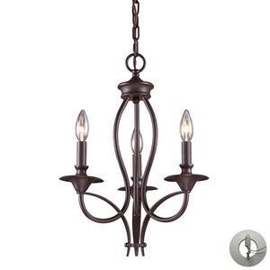 Medford - Three Light Chandelier