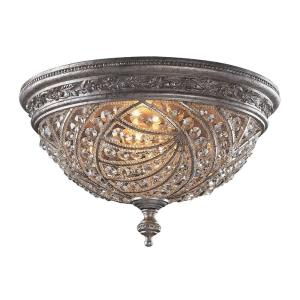 Renaissance - Four Light Flush Mount