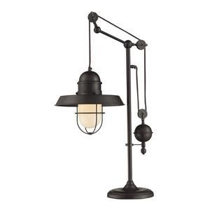 Farmhouse - One Light Adjustable Table Lamp