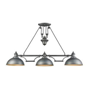 Farmhouse - Three Light Adjustable Island