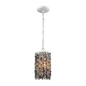 Agate Stones - One Light Mini Pendant