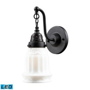 Quinton Parlor - 12 Inch 9.5W 1 LED Wall Sconce