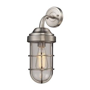 Seaport - 1 Light Wall Sconce in Transitional Style with Urban/Industrial and Modern Farmhouse inspirations - 16 Inches tall and 6 inches wide