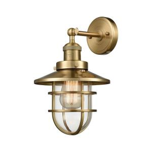 "Seaport - 13"" One Light Wall Sconce"